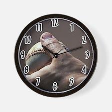 baseball pitch Wall Clock