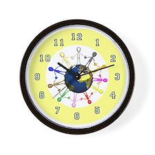 childrenworldwallclock Wall Clock