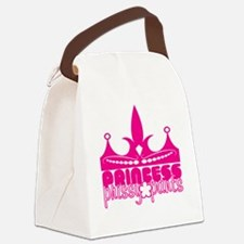 prissypants_shirt1 Canvas Lunch Bag