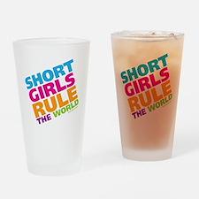 shortgirls_shirt Drinking Glass