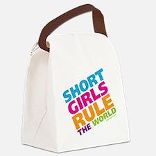 shortgirls_shirt Canvas Lunch Bag