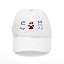 Dont Shop Adopt Mug Baseball Cap