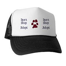 Dont Shop Adopt Mug Trucker Hat