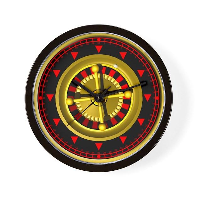 gamblers wheel wallclock Wall Clock by Admin_CP2151179