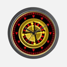gamblers wheel wallclock Wall Clock