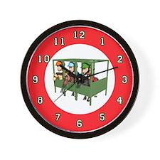 horsejockeywallclock Wall Clock