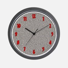 Impressions Wall Clock