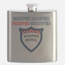 pooperpatrol-back-transparent Flask