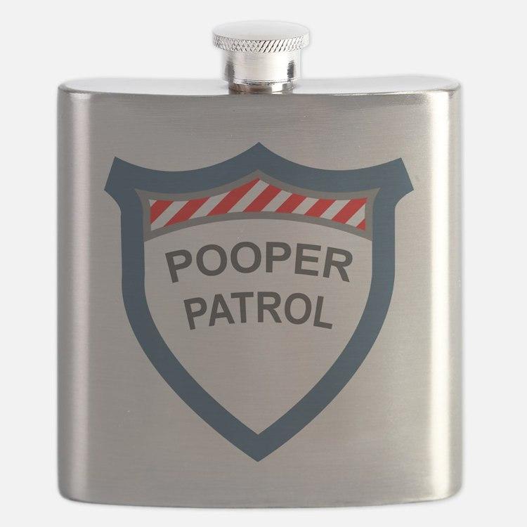 pooperpatrol-pocket-transparent Flask