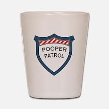 pooperpatrol-pocket-transparent Shot Glass