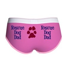 Rescue Dog Dad Mug Women's Boy Brief