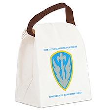 DUI- 504TH BATTLEFIELD SURV  HQ A Canvas Lunch Bag