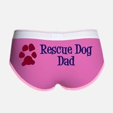 Rescue Dog Dad Sticker Women's Boy Brief
