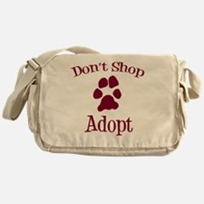 Dont Shop Adopt Messenger Bag