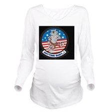 Anytime Baby LP Long Sleeve Maternity T-Shirt