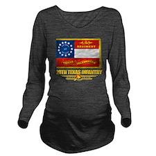 20th Texas Infantry  Long Sleeve Maternity T-Shirt
