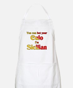 You can bet your Culo I'm Sicilian BBQ Apron