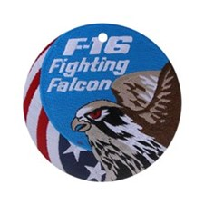 Falcon LP Round Ornament