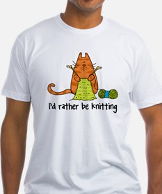 Rather be knitting Shirt