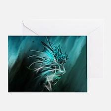 Fractal Water Greeting Card