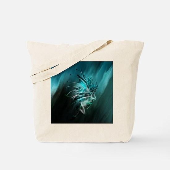 Fractal Water Tote Bag