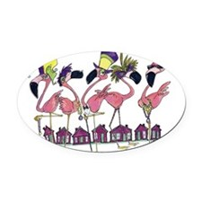 9 by 12 Oval Car Magnet