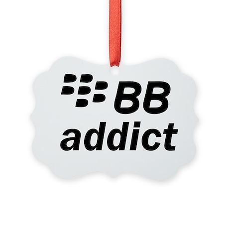 BB Addict Picture Ornament