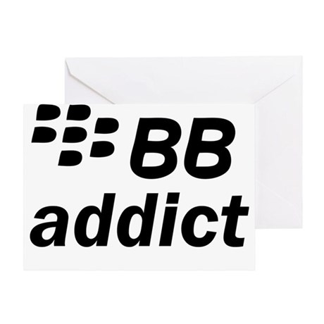 BB Addict Greeting Card