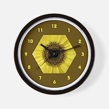 sunflower wallclock Wall Clock