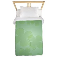 ShamrockInsideCardP Twin Duvet