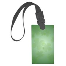 ShamrockInsideCardP Luggage Tag