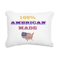 usaT2 Rectangular Canvas Pillow