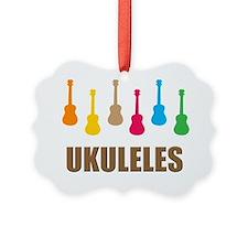 ukulele ukuleles uke ukes Ornament