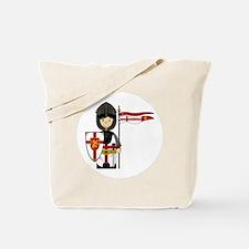 Knight Button 1 Tote Bag