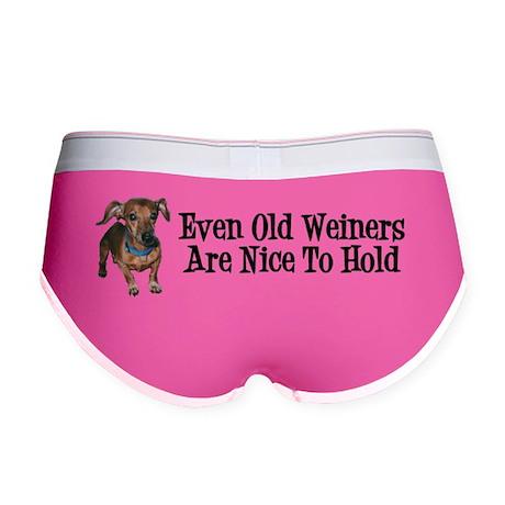 Even Old Weiners Sticker Women's Boy Brief