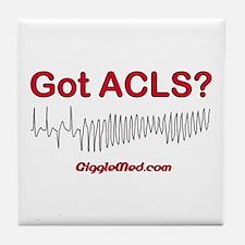 Got ACLS? Tile Coaster