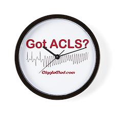 Got ACLS? Wall Clock