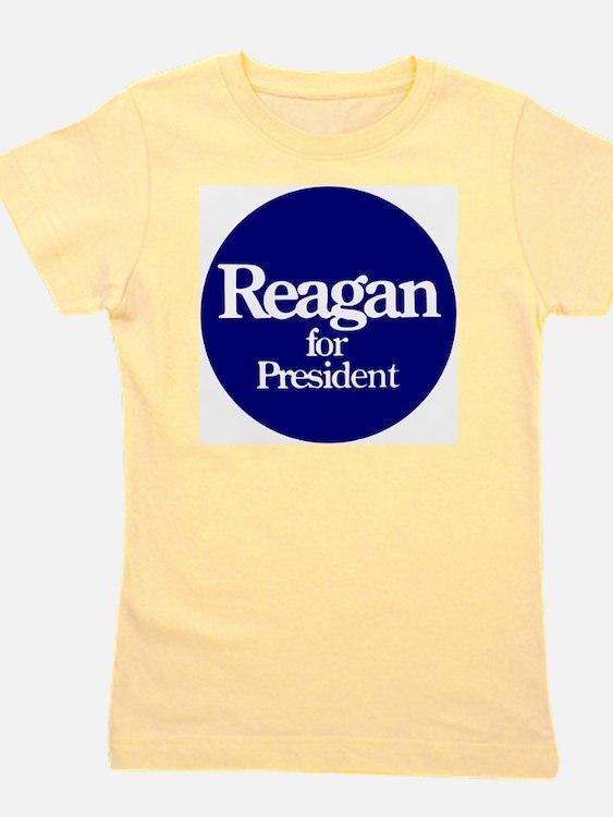 Reagan-button Girl's Tee