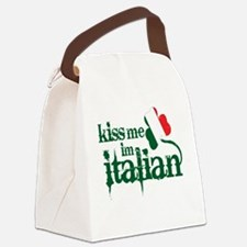 kiss-me-italian-vintage-color.gif Canvas Lunch Bag