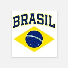 "brazilcolor Square Sticker 3"" x 3"""