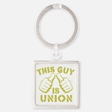 This GUy is Union-GD Square Keychain