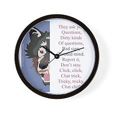 TCT8wht Wall Clock