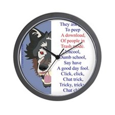 TCT7wht Wall Clock