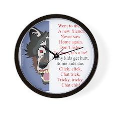 TCT6wht Wall Clock