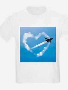 Air Force Love Kids T-Shirt