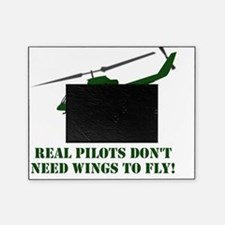 Helicopter Wings Green Picture Frame