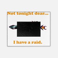 Tonight Raid orange Picture Frame