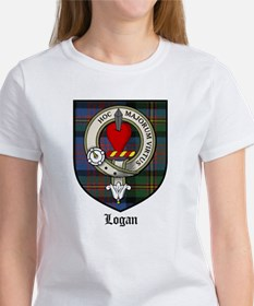 Logan Clan Crest Tartan Women's T-Shirt