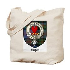 Logan Clan Crest Tartan Tote Bag