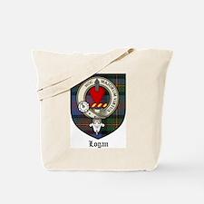 Logan Clan Crest Tartan Tote Bag